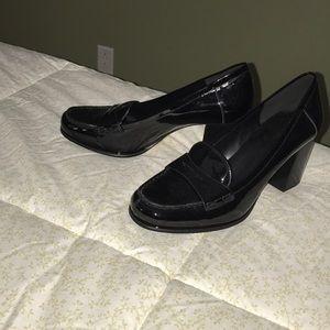 Black Michael Kors high heel shoes